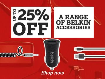 Up To 25% Off a Range of Belkin Accessories